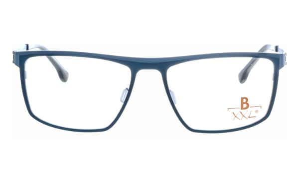 Brille XXL XXL1021 dunkelblau-blau matt |Brillenmann