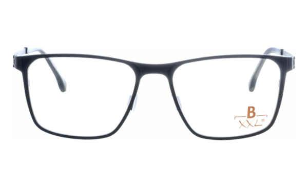 Brille XXL XXL1024 schwarz matt |Brillenmann