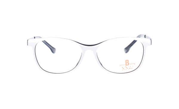 Brille XXL XXL1033 weiss schwarz |Brillenmann