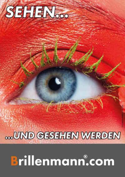 Nutzen Sie unsere Brillenmann Posteraktion für Ihr Unternehmen