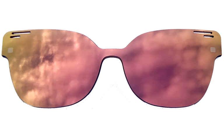 Brille K16 K1437-Sun gold-rose-verspiegelt  Brillenmann