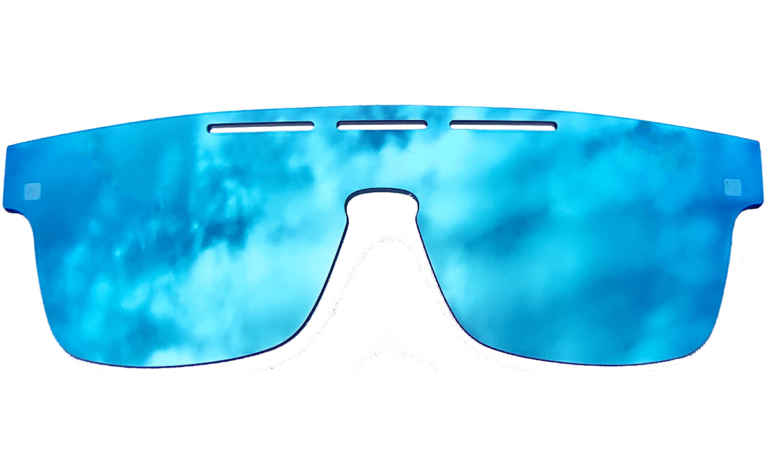 Brille K16 K1438-Sun blau-verspiegelt |Brillenmann