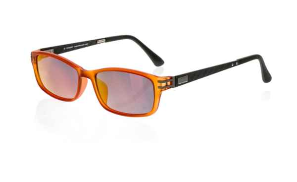 Brille P·A·S·S P388 orange transparent matt