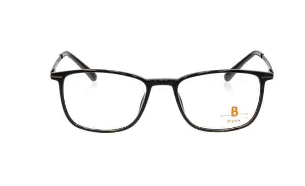 Brille P·A·S·S P531 schwarz glänzend  Brillenmann