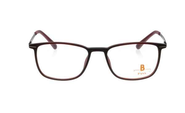 Brille P·A·S·S P531 dunkelrot matt  Brillenmann