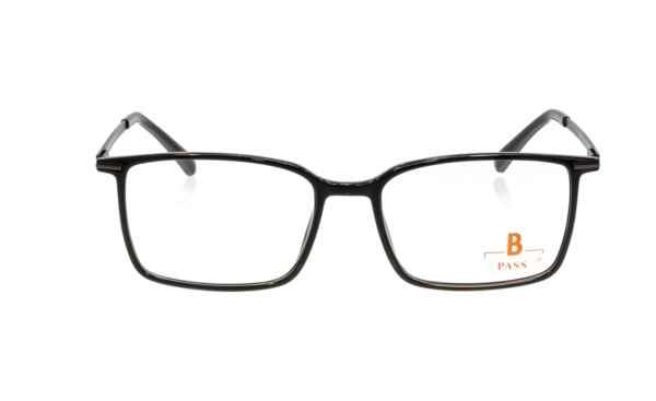 Brille P·A·S·S P532 schwarz matt  Brillenmann