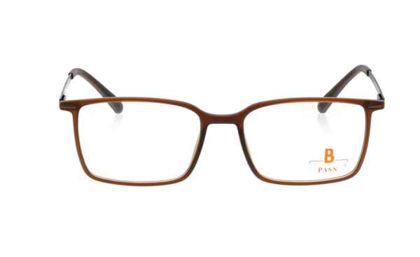 Brille P·A·S·S P532 braun matt  Brillenmann