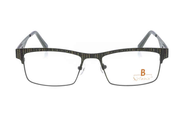 Brille Xclusiv XCF28 schwarz mit schwarzem Webmuster |Brillenmann