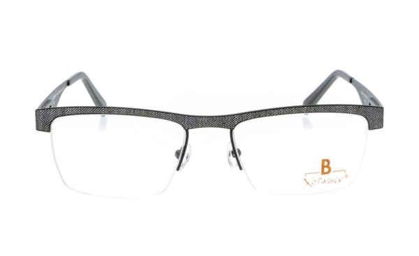 Brille Xclusiv XCF29 schwarz mit grauem Jeansmuster |Brillenmann