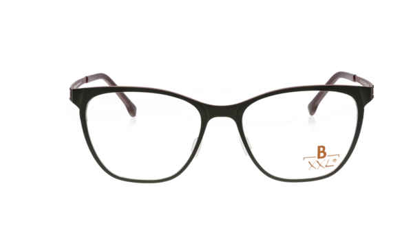 Brille XXL XXL1018 dunkelbraun matt |Brillenmann