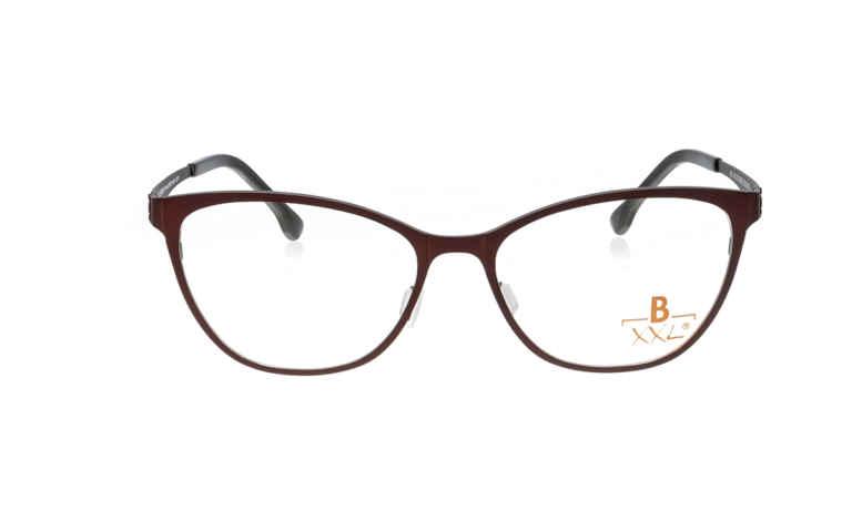 Brille XXL XXL1019 dunkelrot matt |Brillenmann
