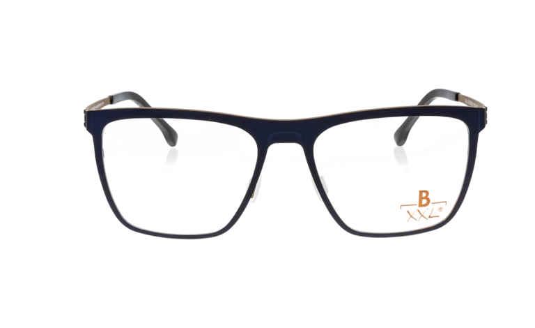 Brille XXL XXL1020 dunkelblau matt |Brillenmann