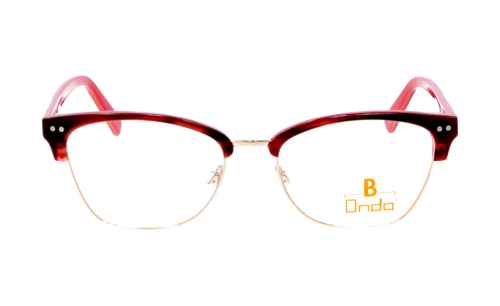 Brille Onda ON3036 oben rot matt