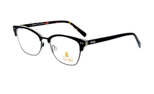 unten schwarz glänzend |Brillenmann