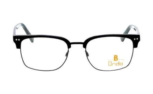 Brille Onda ON3038 oben schwarz matt