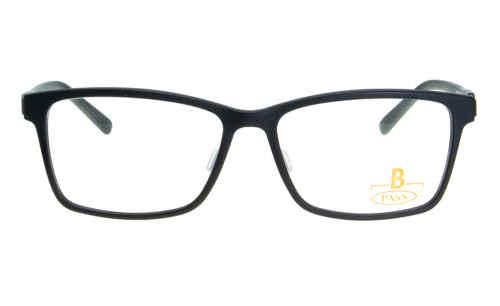 Brille P·A·S·S P337 schwarz matt |Brillenmann