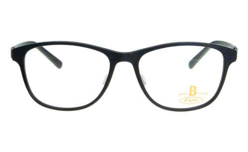 Brille P·A·S·S P406 schwarz matt |Brillenmann