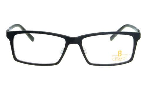 Brille P·A·S·S P410 schwarz matt |Brillenmann