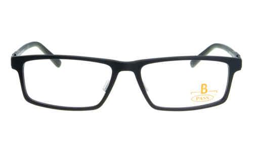 Brille P·A·S·S P411 schwarz matt |Brillenmann
