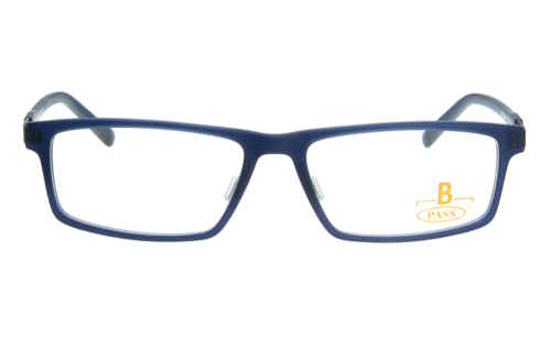 Brille P·A·S·S P411 dunkelblau matt |Brillenmann