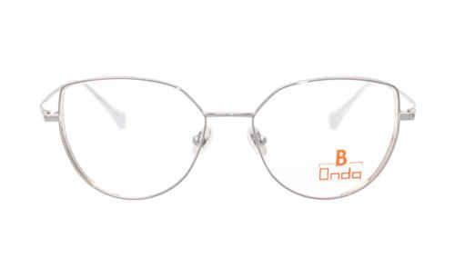 Brille Onda ON3056 silber mit glitzer temporal |Brillenmann