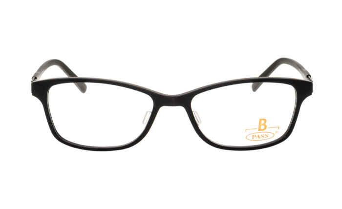 Brille P·A·S·S P418 schwarz matt |Brillenmann