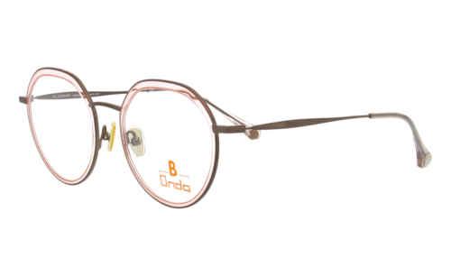 Augenrand Rosa transparent |Brillenmann