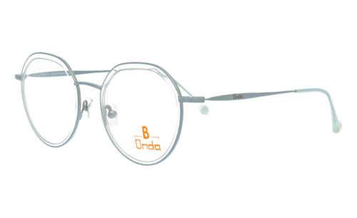 Augenrand Türkis transparent |Brillenmann