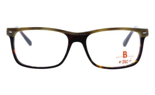 Brille +choc- C575 oben braun meliert