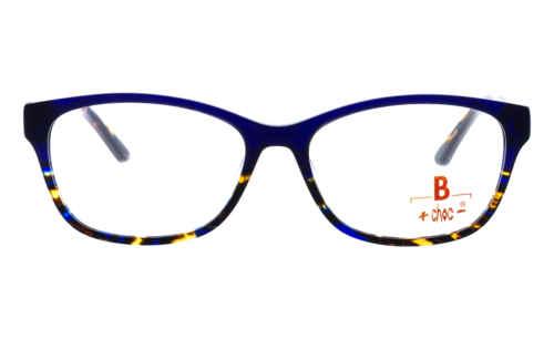 Brille +choc- C576 oben blau