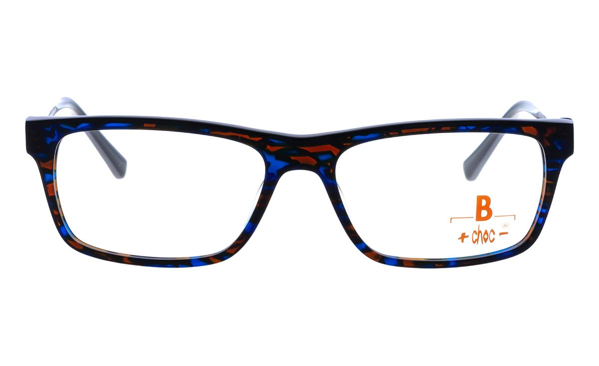 Brille +choc- C577 blau