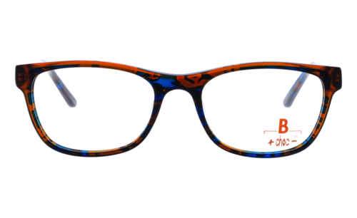 Brille +choc- C578 dunkel blau