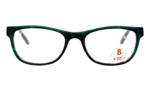 Brille +choc- C578 Front dunkel grün