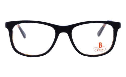 Brille P·A·S·S P488 schwarz glänzend |Brillenmann