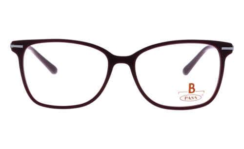 Brille P·A·S·S P533 dunkelrot matt |Brillenmann