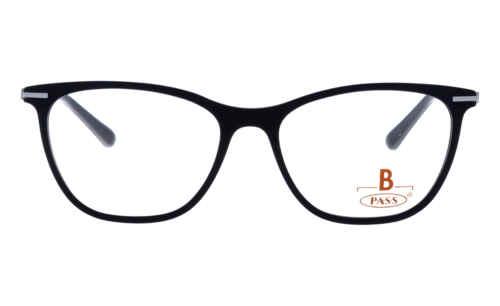 Brille P·A·S·S P534 schwarz matt  Brillenmann
