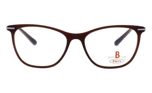 Brille P·A·S·S P534 braun matt  Brillenmann