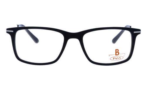 Brille P·A·S·S P536 schwarz matt  Brillenmann