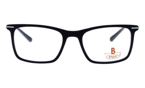 Brille P·A·S·S P537 schwarz matt  Brillenmann