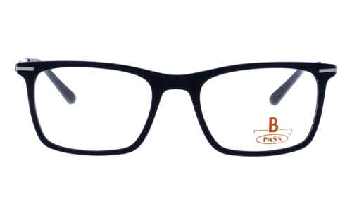 Brille P·A·S·S P537 dunkelblau matt  Brillenmann
