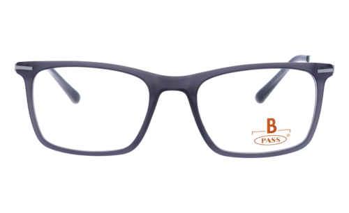 Brille P·A·S·S P537 grau matt  Brillenmann
