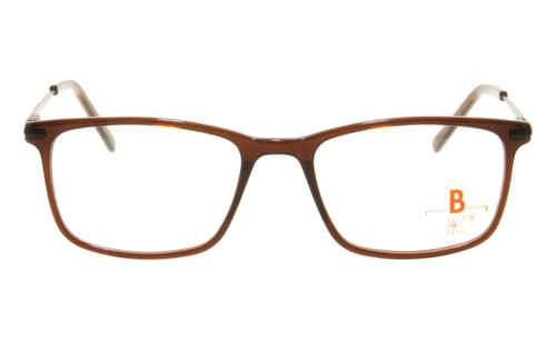 Brille K16 K1448 braun transparent |Brillenmann