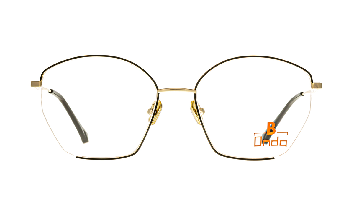Brille Onda ON3006 schwarz matt | Brillenmann
