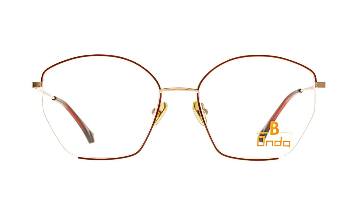 Brille Onda ON3006 rot matt  Brillenmann