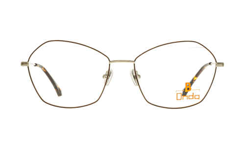 Brille Onda ON3007 braun glänzend | Brillenmann