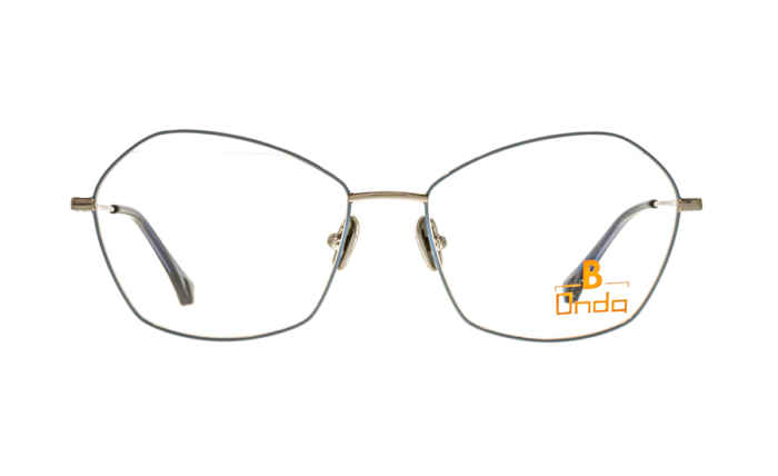 Brille Onda ON3007 blau glänzend  Brillenmann