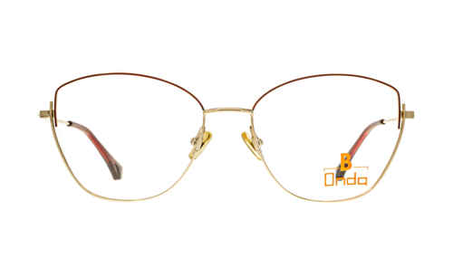 Brille Onda ON3074 oben rot matt