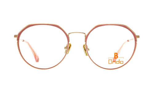 Brille Onda ON3077 Augenrand rosa matt