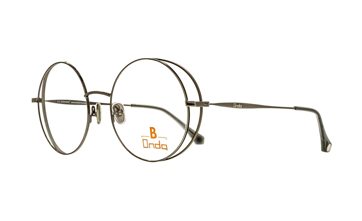 Fassungsring dunkelbraun matt  Brillenmann