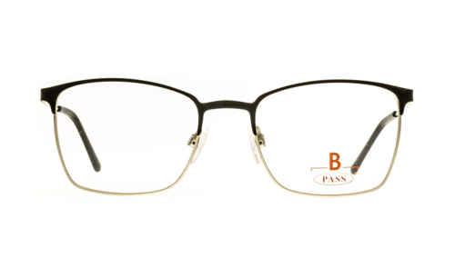Brille P·A·S·S P546 oben schwarz matt
